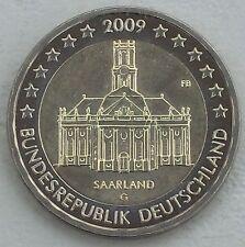 2 Euro Deutschland G 2009 Saarland unz.