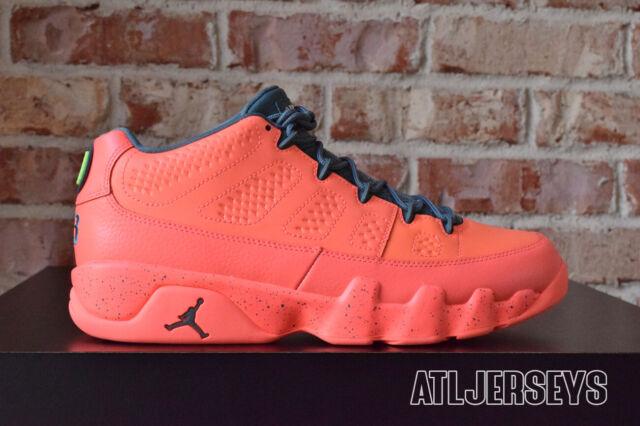 newest 0d9c4 2abf9 Nike Air Jordan 9 Retro Low Bright Mango 832822-805 Size 10