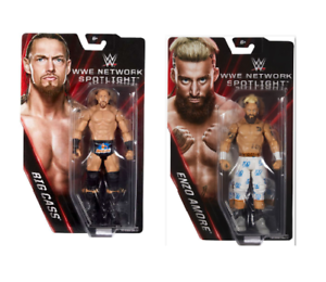 Enzo Amore & Big Cass WWE Network Spotlight Wrestling Figures -Brand New & Boxed