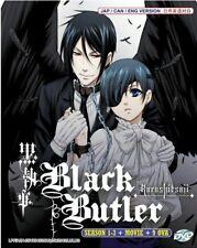 Anime Dvd Black Butler Kuroshitsuji Complete Season 1 3 9 Ovas English Dub For Sale Online Ebay