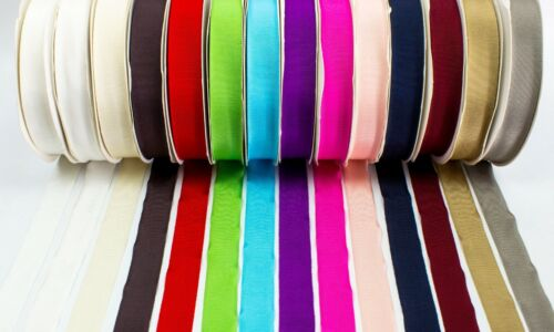 Petersham Ribbon for Millinery 1 Inch 25 mm Sold by the Yard Black