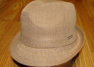 e234f3b92fede Image is loading Mens-Classic-Kangol-Bamboo-Arnold-Trilby-Fedora-Color-
