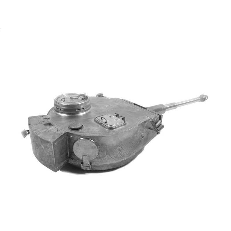 MATO Metal Turret IR  Recoil Version For 1220 RC 1 16 Geruomoy Tiger 1 Tank  migliore marca