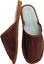 *COGNAC* Hausschuhe Latschen Pantolette Gr.45 Echt LEDER 292
