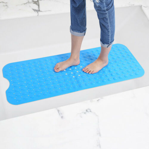 Bath Mat Non Slip Anti Skid Rubber Shower Tub Safe Protection Bathtub Safety Mat