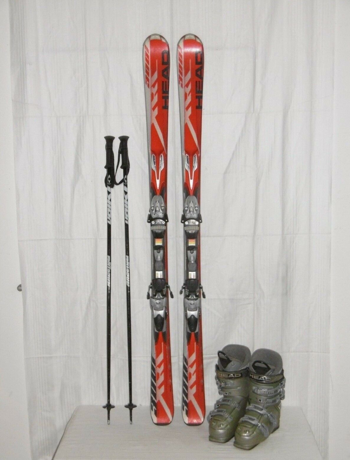 Head Ski  XRC 300i  Top Allround Carver 156 cm + Ski Stiefel Größe  39 in Set