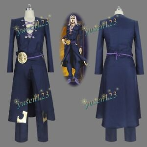 JoJo/'s Bizarre Adventure Leone Abbacchio Men/'s Cosplay Costume Suit Uniform