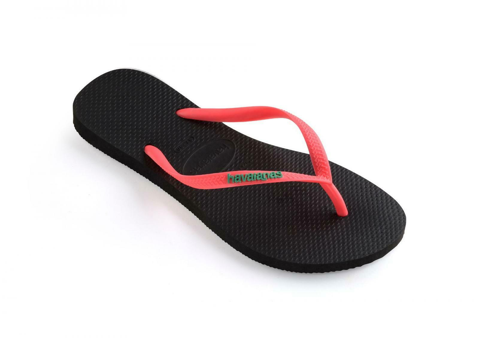 HAVAIANAS SLIM LOGO POP UP. WOMENS FLIP FLOPS