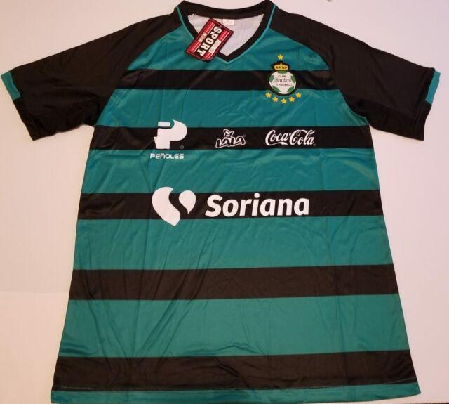 NEW 2019-2020 Santos Laguna Pink Soccer Jersey Short Sleeve Man Tshirt S-XXL