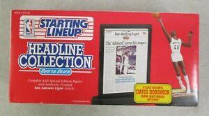 MIB 1992 KENNER NBA STARTING LINEUP HEADLINE COLLECTION DAVID ROBINSON FIGURE