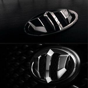 1Set 7Pcs New Brenthon F R Wheel Hub Emblem Black For 14 Kia Sportage