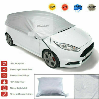 Size XLUniversal Roof Car Cover Outdoor Indoor Waterproof Weather UV Rain Proof