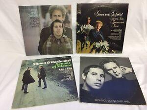 Simon-amp-Garfunkel-LP-LOT-Sounds-of-Silence-Bookends-Bridge-over-Parsley