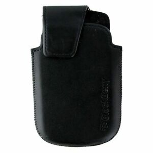 BlackBerry-Leather-Pouch-w-Clip-for-BlackBerry-Bold-9900-9930-Black-NEW