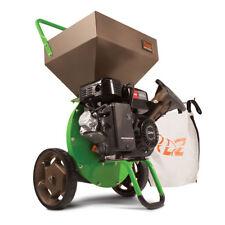 Earthquake 30520 Tazz Viper 212cc Gas Wood Chipper Shredder Mulch Bag, Green