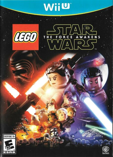 LEGO Star Wars: The Force Awakens - Nintendo Wii U - FREE Shipping USA
