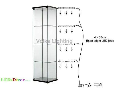 Gl Display Cabinet Lights Warm White Ebay