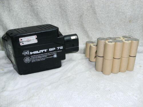 1 kit remplacement batterie hilti BP 60 ou BP 72  en 2,0Ah