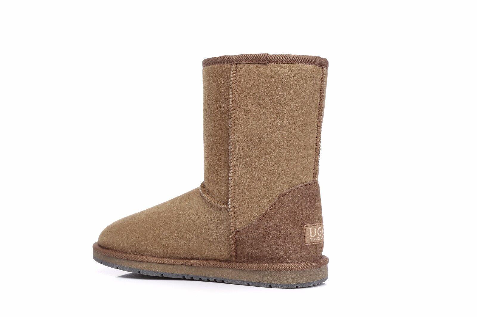 3f9713aa52a UGG Boots Short Classic Chestnut - Australian Sheepskin, Water ...
