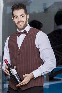 Gilet Panciotto Uomo Lavoro Business Elegante Cameriere Bar ... 795fb1e96867