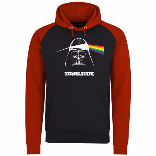 Darkside Darth Vader pink floyd drôle Baseball 2 Couleur Unisexe Pull À Capuche