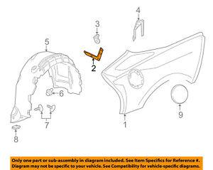 Chevrolet GM OEM 15-18 Corvette QUARTER PANEL-Upper Reinforcement Right 20980051