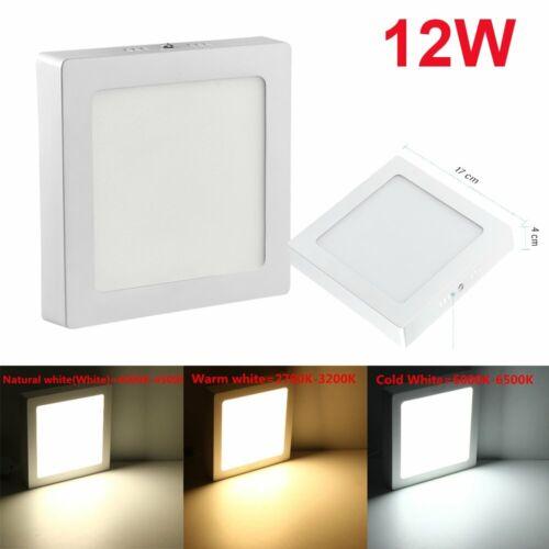 LED Panel Aufputz Aufbau Wandleuchte Deckenlampe Panel Deckenleuchte 6W bis 24w