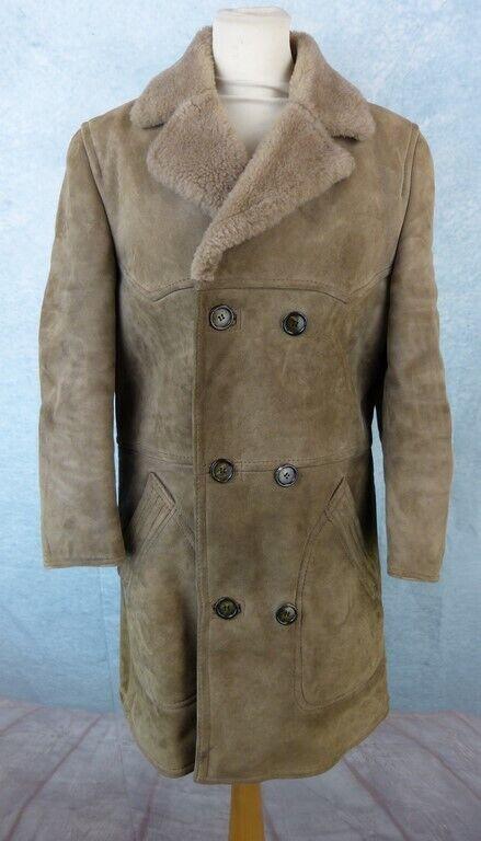 ARMAND THIERRY Manteau peau retournée Femme size 46 Fr - Mouton