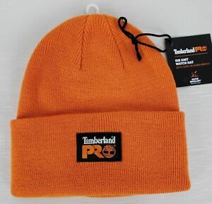 a44acc831 Details about New Timberland Pro Water Repellent Beanie Hunter/Safety  Orange Watch Hat CR