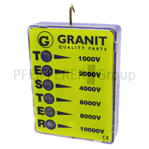 Zaunprüfer 0-10 000 V für Elektrozaun