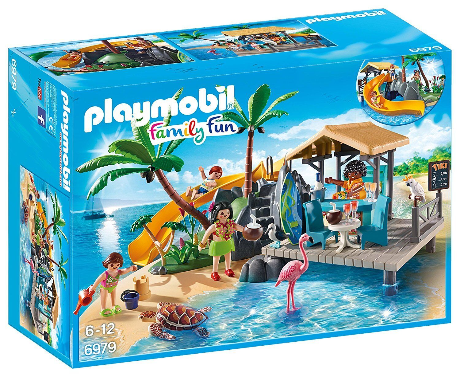 Playmobil Family Fun 6979 - Isla Resort - Nuovo and sealed
