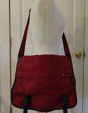 Tommy Hilfiger red padded messenger bag lap top etc.
