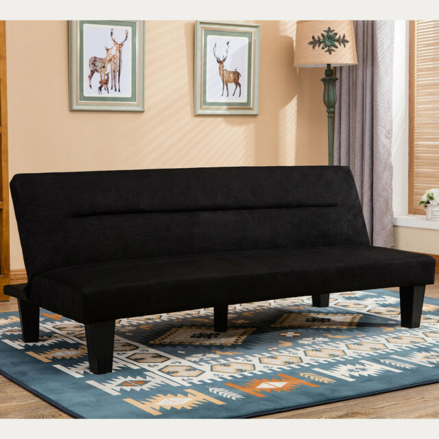 Modern Style Sleeper In Convertible Sofa Futon Couch Bed ...