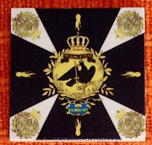 Prussia -Prussian flag Napoleonic wars~Colberg 1807~ FLAG ...