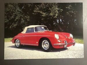 1960-Porsche-356-B-T5-Roadster-Picture-Print-Poster-RARE-Awesome