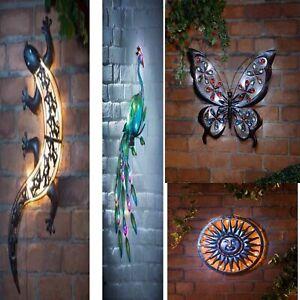 Solar Gecko Wall Art Home Accessories Home & Kitchen