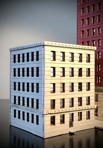 Z scale 5 story building NEW