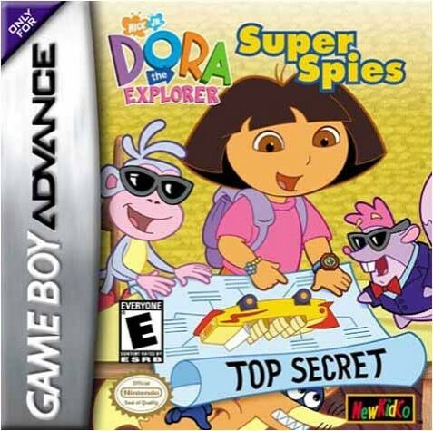 DORA THE EXPLORER: SUPER SP...-DORA THE EXPLORER: SUPER SPIES / GAME GAME NEUF