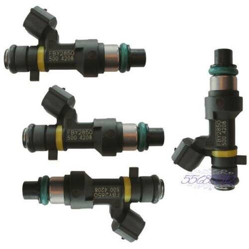 4*Fuel Injector 16600EN200 8002092N 1580932 For 07-11 Sentra Cube Versa