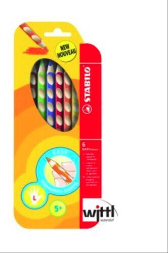 Malstift für Rechts- Linkshänder 6er+12er Set STABILO EASYcolor Buntstift
