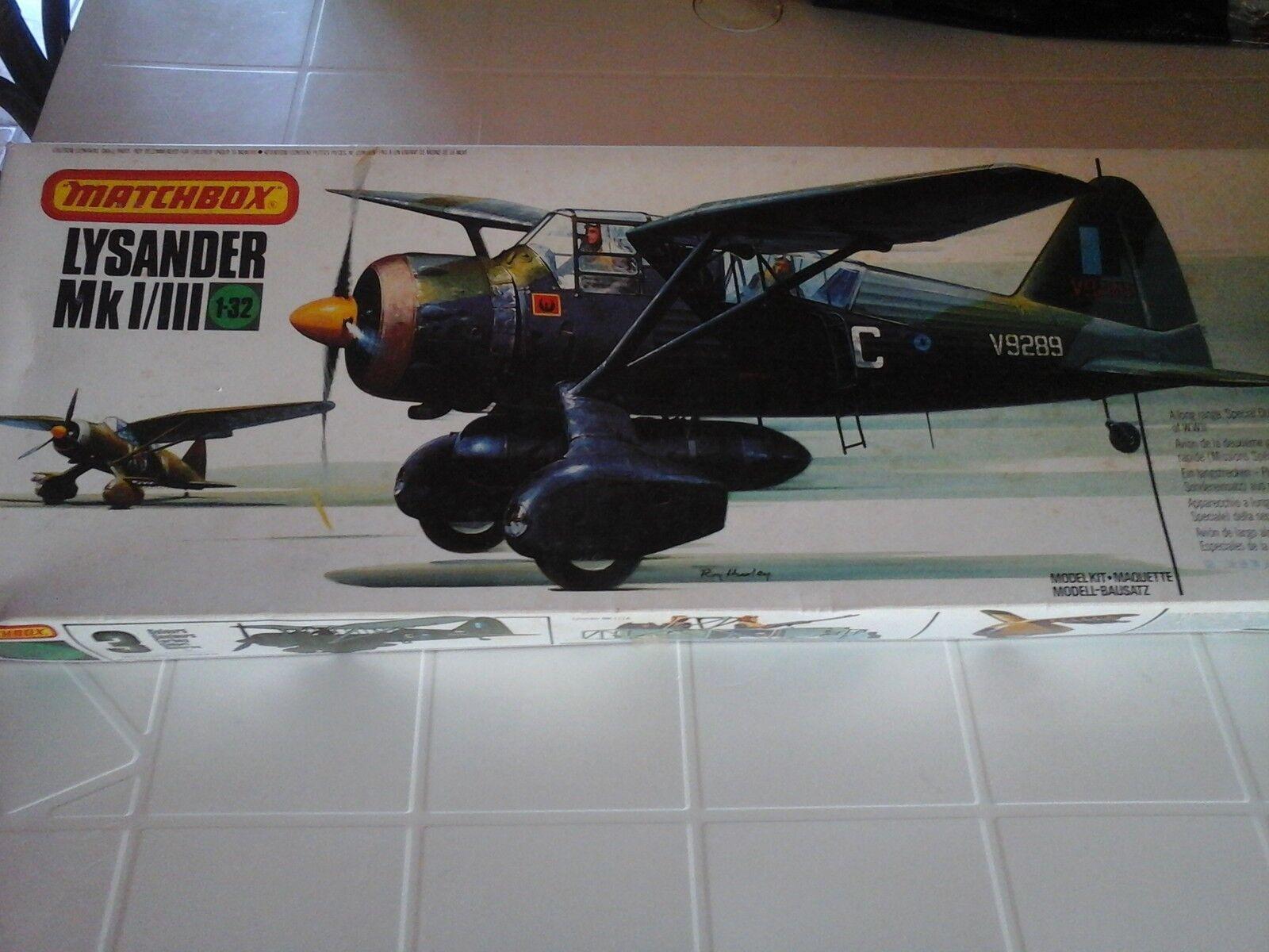 Westland Lysander Mk.I III  PK-504U 1 32 scale Matchbox model
