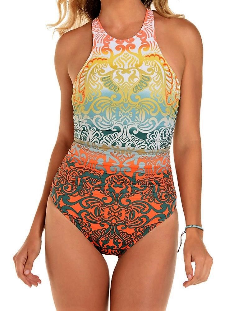 NWT MSRP  170 -  MAGICSUIT Bollywood Danika Swimsuit, Multi-color, Size 14