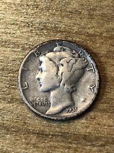 1931S Mercury Dime VG+