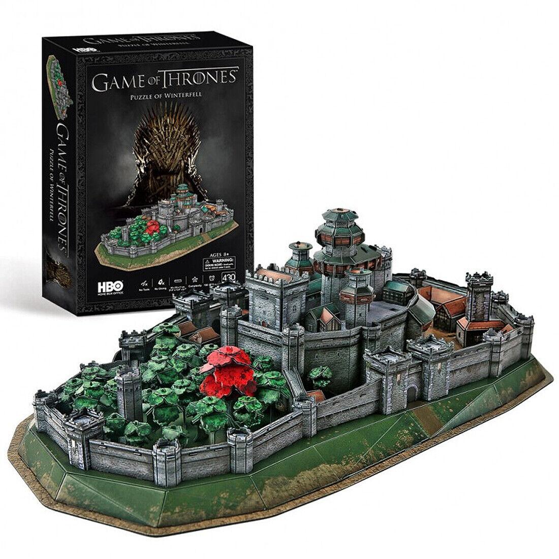 Spiel Throne - Winterfell - 3D Puzzle