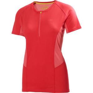 Helly-Hansen-Women-039-s-Pace-1-2-Zip-Short-Sleeve-Training-Running-Top-S-BNIP