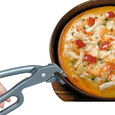 New Premium Pizza Pan Gripper Cast Aluminum Safety Tool Kitchen Home