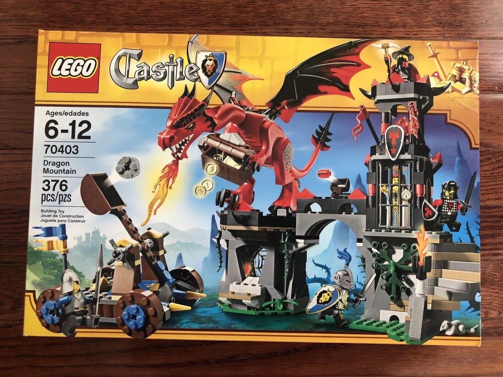 Lego Dragon 735300 Mountain 70403Sealed Castle New xeCdBo