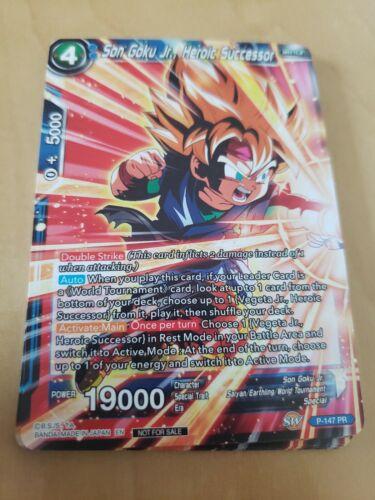 Heroic Successor P-147 PR M//NM Son Goku Jr. WMAT Power Booster