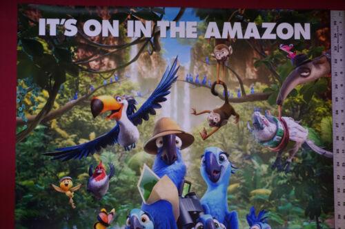 Rio 2  Parrot Monkey Jungle Collectible Movie Picture Poster 24X36 New    RIO2