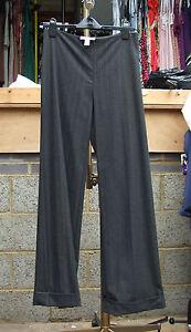 10 Classy Joseph Gris Ultra Classiques Bnwt Classiques Exquis Pantalons Ribkoff Ultra Uk wwtBR